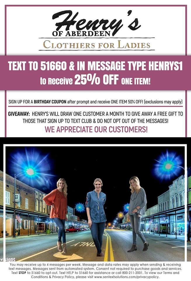 Home - Henry's of Aberdeen